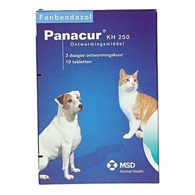 | Panacur 250 mg 10 Tabletten