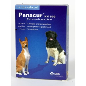 Panacur 500 mg 10 Tabletten