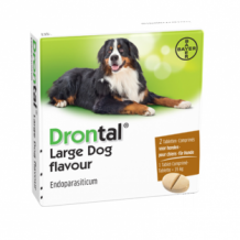 Drontal large dog flavour _ 2 tabletten