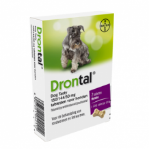Drontal dog tasty ________  2 tabletten