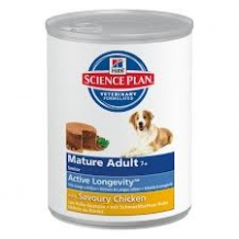 Hill's Science Plan Mature/Adult Chicken Blik 12 x 370 g