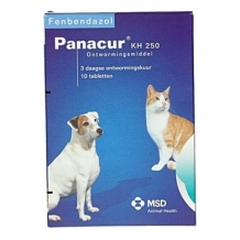 Panacur 250 mg 10 Tabletten